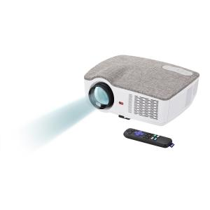 onn. 720p Portable Projector with Roku Streaming Stick