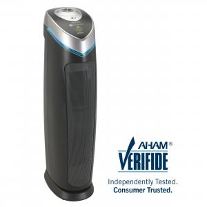 GermGuardian Air Purifier with True HEPA Filter and UV-C Sanitizer, 3-in-1 AC5000E 28-Inch Tower