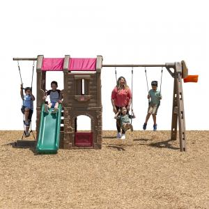 Step2 Naturally Playful Adventure Lodge Outdoor Swing