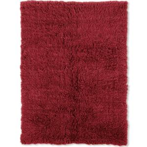 Linon 3A Flokati Area Rug, Red, 9ft x 12ft