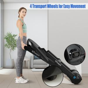 2.25HP Folding Running Treadmill W/ LED Touch Display