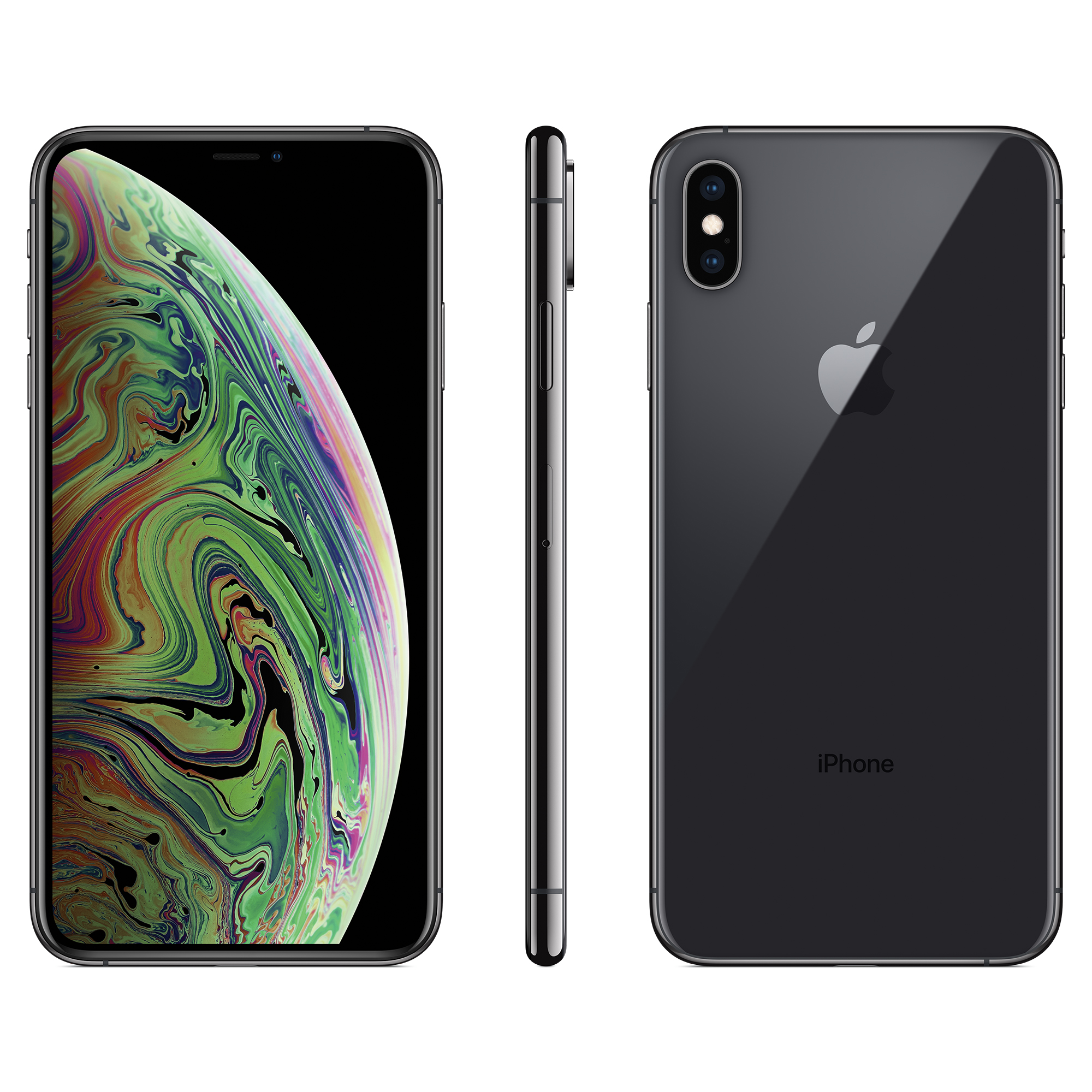 Apple iPhone XS Max 512GB Space Gray A Grade Refurbished Fully Unlocked Smartphone