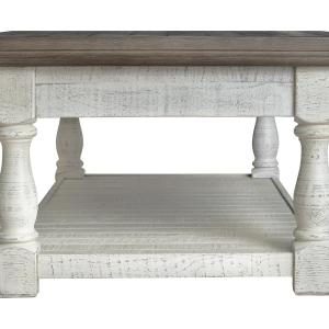 Signature Design by Ashley Havalance Gray/White Lift Top Cocktail Table