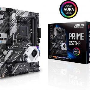 ASUS AMD AM4 ATX motherboard with PCIe 4.0, 12 DrMOS power stages, DDR4 4400MHz 90MB11N0-M0AAY0