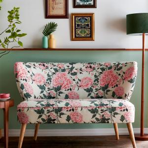Vintage Floral Loveseat by Drew Barrymore Flower Home