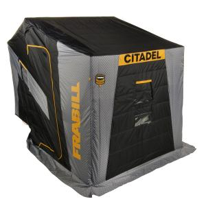 Frabill Shelter Citadel Sidestep 3255 Fully Insulated With Boat Seats, 640520