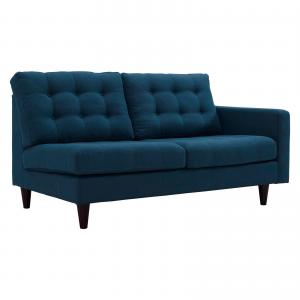 Modway Empress Right-Facing Upholstered Fabric Loveseat, Multiple Colors