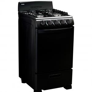 Danby 20″ Gas Range with 2.3 Cu Ft Oven in Black, DR202BGLP