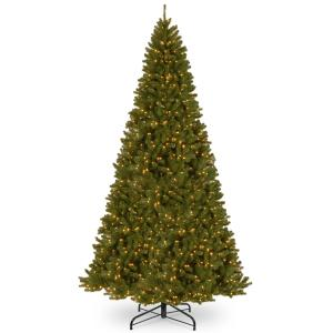 National Tree North Valley(R) Spruce Tree with Clear Lights-Size:12 ft