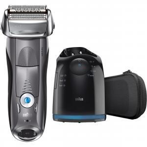 Braun Series 7 7865cc Wet Dry Mens Electric Shaver with Clean Station