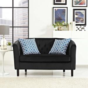 Modway Prospect Tufted Velvet Loveseat, Multiple Colors