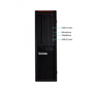 Refurbished Lenovo P300-SFF 0″ Desktop PC with Intel Core i7-4790 3.6GHz Processor, 16GB Memory, 480GB SSD, and Win 10 Pro (64-bit) (Monitor Not Included)