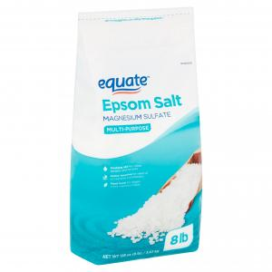 (2 pack) Equate Multi-Purpose Epsom Salt, 128 oz
