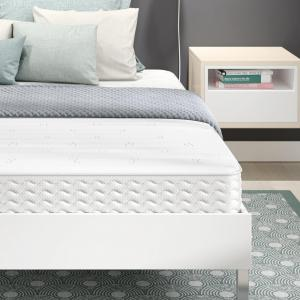 Signature Sleep Contour 8-Inch Reversible Independently Encased Coil Mattress, Queen.
