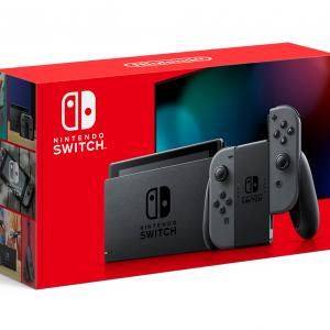 Refurbished Nintendo Switch Console with Gray Joy-Con