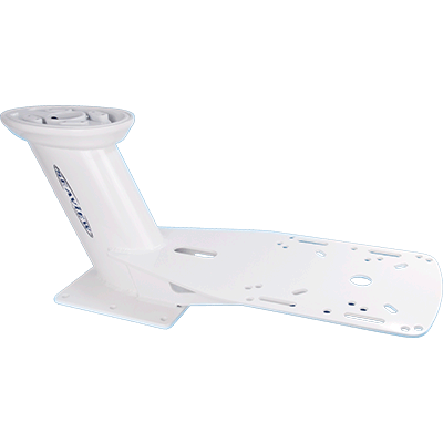 35″ White Dual Mount for Most Radar Domes Top for Sat Domes