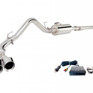 XForce ES-F15015-VMK-CBS Stainless Steel 3″ Cat-Back Exhaust System with Varex Muffler for Ford F150 2015-2018: V8, Ecoboost2.7/3.5 and Raptor(15-16 only) | Excludes Regular Cab