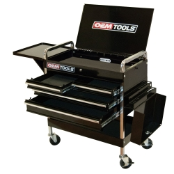 OEMTOOLS 24962 SERVICE CART W/4 DRAWERS AND 1 TRAY
