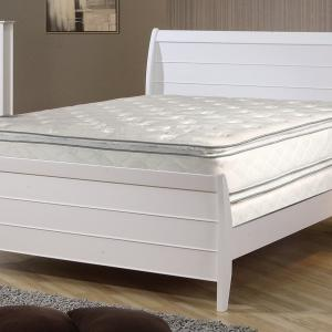 Continental Sleep, 12-Inch medium plush Double sided Pillowtop Innerspring Fully Assembled Mattress and 8-Inch Split Semi Flex Box Spring/Foundation Set, King Size
