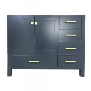 ARIEL Cambridge 42 in. W x 21.5 in. D Vanity Cabinet Only in Midnight Blue