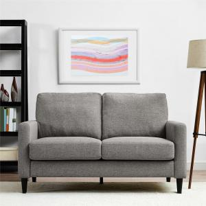 Dorel Living Kaci Loveseat, Gray