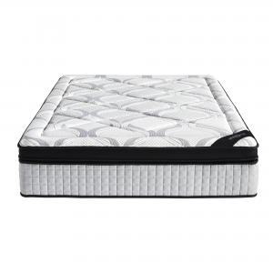 Hotel Style 14-Inch Pillow Top Memory Foam and Individually Encased Spring Mattress