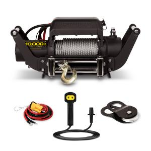 Champion 11006 10,000-lb. Truck/SUV Winch Kit with Speed Mount and Remote Contro