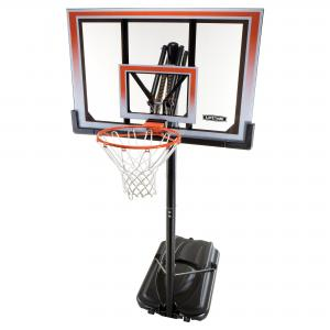 Lifetime 50″ Shatterbroof Portable One Hand Height Adjustable Basketball system, 71566
