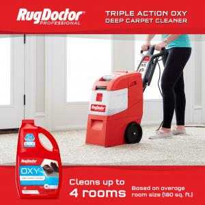 Rug Doctor Mighty Pro X3 Commercial Carpet Cleaner – Large Red Pro Pack