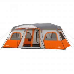 Ozark Trail 18′ x 10′ Instant Cabin Tent with Integrated Led Light, Sleeps 12