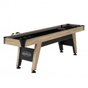 Barrington Wentworth 9′ Shuffleboard Table, Accessories Included