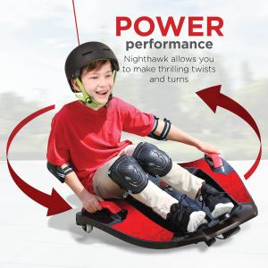 Rollplay 12 Volt Nighthawk Ride On Toy, Battery-Powered Kid's Ride On