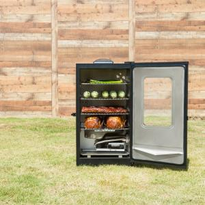 Masterbuilt 30-inch Digital Electric Smoker with Window in Black