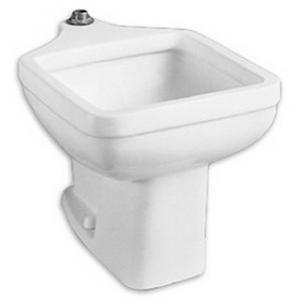 American Standard Clinic Floor Mounted Service Sink in White