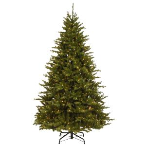 7.5 ft. Neshanic Valley Spruce Tree with Dual Color® LED Lights