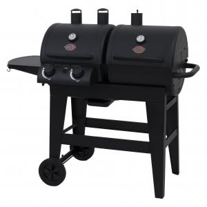 Char-Griller Dual 2 Burner Gas & Charcoal Combo Grill