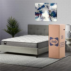 Sealy Response Essentials 10″ Encased Coil Innerspring Mattress in a Box, Twin