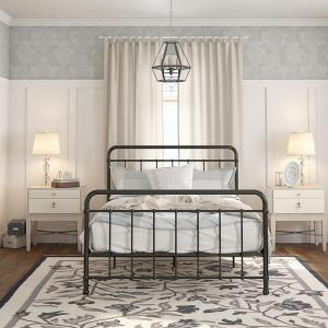 Better Homes and Gardens Kelsey Metal Bed, Multiple Sizes and Colors