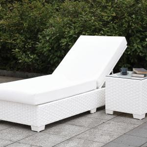 Furniture of America Arthur Modular UV and Water Resistant Outdoor Adjustable Chaise