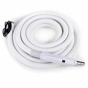 Premium 35 ft Central Vacuum Hose Kit With Direct Connect Wessel Werk Power Nozzle Designed to Fit All Brands like Beam Electrolux Nutone