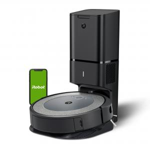 iRobot® Roomba® i3+ (3550) Robot Vacuum with Automatic Dirt Disposal Disposal – Empties Itself, Wi-Fi® Connected Mapping, Works with Alexa, Ideal for Pet Hair, Carpets