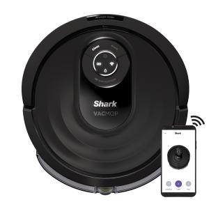 Shark® AI VACMOP Robot Vacuum and Mop with Self Cleaning Brushroll, Object Detection, Advanced Navigation, Powerful Suction and Mopping, Perfect for Pet Hair, Wi Fi (RV2000WD)