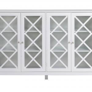 Savannah Accent Cabinet With Four Doors