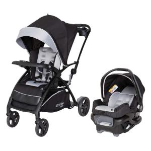 Baby Trend Sit N Stand® 5-in-1 Shopper Travel System – Moondust – Gray
