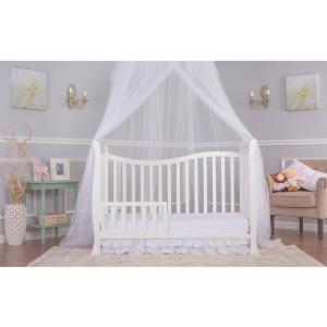 Dream On Me Violet 7-in-1 Convertible Crib White