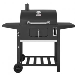Royal Gourmet CD1824A 24-Inch Charcoal Grill, 598 Square Inches, 6 Adjustable Heights, BBQ Outdoor Picnic, Camping, Patio Backyard Cooking, Black