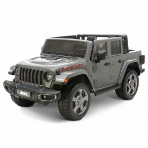 12 volt Jeep Gladiator Battery Powered Ride On Vehicle, Gray