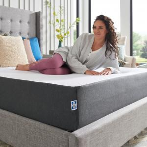 Sealy 10″ Medium Firm Hybrid Bed in a Box Mattress, Twin