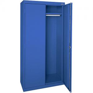 Elite Series Wardrobe Cabinet with Adjustable Shelf, 36″W x 18″D x 72″H, Blue