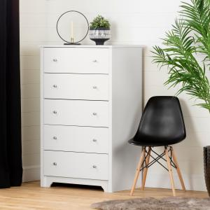 South Shore Vito 5-Drawer Dresser, Multiple Finishes